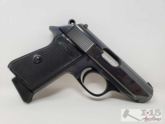 Walther PPK/S .380 Semi-Auto Pistol with 7 Round Magazine and Case