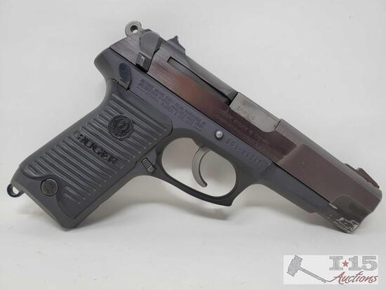 Ruger P85 9mm Semi-Auto Pistol with Case