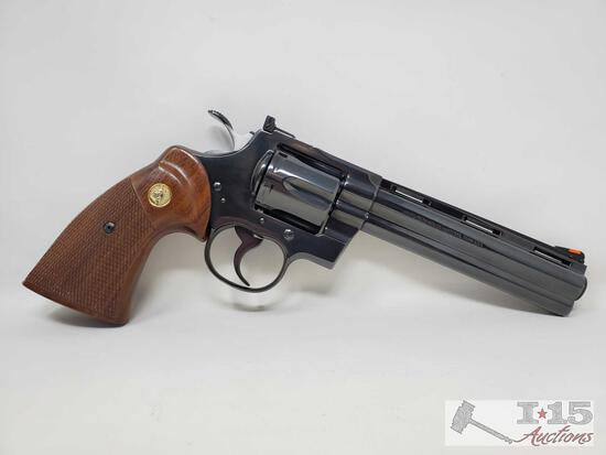 Colt Python .357mag Revolver with Case