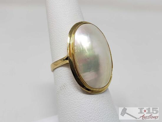 14k Gold Ring Weighs Approx 3.5g