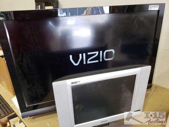 """37"""" Vizio Tv and 15"""" Magnavox TV(No cord)"""