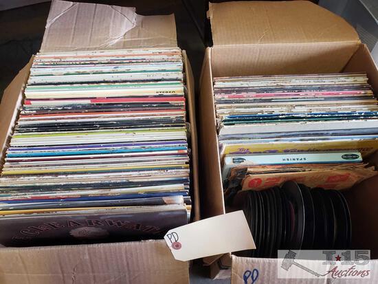 Over 100 Vinyl Records