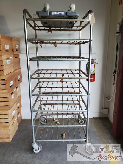 Metal Bread Rack