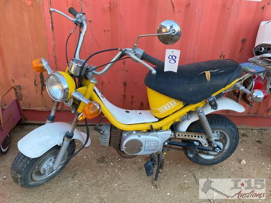 1976 Yamaha Chappy Motorcycle