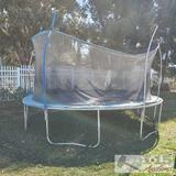 Trampoline with Encloser