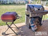 Tenton True to the Trail Bbq and Rolling Charcoal Grill