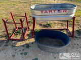 2 Tarter Water Tank Stands, 1 Stock Tank and more