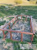 3) large Haybale holders