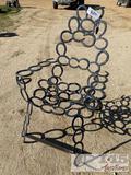Custom Horseshoe Chair