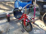 Schwinn Tricycle and and Razor Scooter
