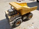 2 Metal Toy Tractors