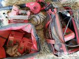 Milwaukee Power Tools, Bag, and Chargers with Snap-on Charger and Husky Bag