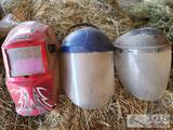 Lincoln Welding Mask and Clear Face Shields