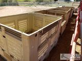 7 Collapsible Produce Crates