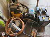 Shop Vac, Bissell Vacuum, Tool Bags, EZ Wash Wands, and More