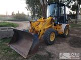 1998 JCB 407B with Fork Lift Attachment
