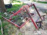 Hydraulic 8 Bale Hay Accumulator Tractor Attachment