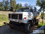 1989 GMC Top Kock 7000 Diesel Water Truck
