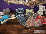 Glass Jewelry Boxes, Trays and More
