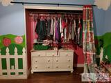 Girls Clothes, Bedding, Bushnell Telescope, Girl Shoes, Dresser and more!