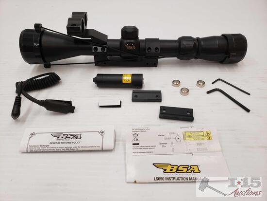 1 BSA VH3-9...40LL Scope, 1 BSA Laser