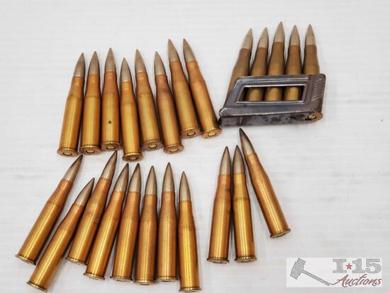 Approx 24 Rounds of 1941 8x56R