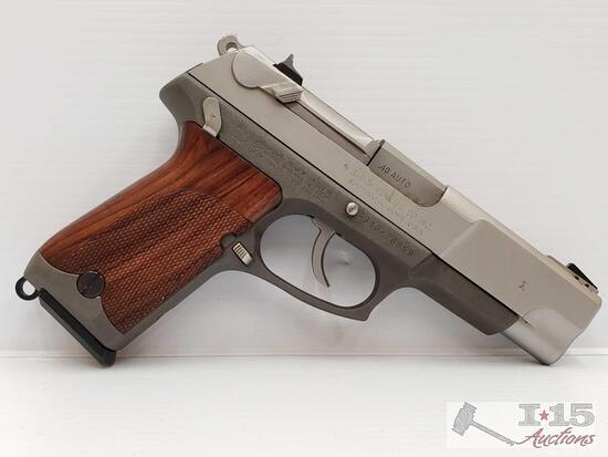 Ruger P91DC .40 Auto Semi-Auto Pistol With Case and 2 Magazine's