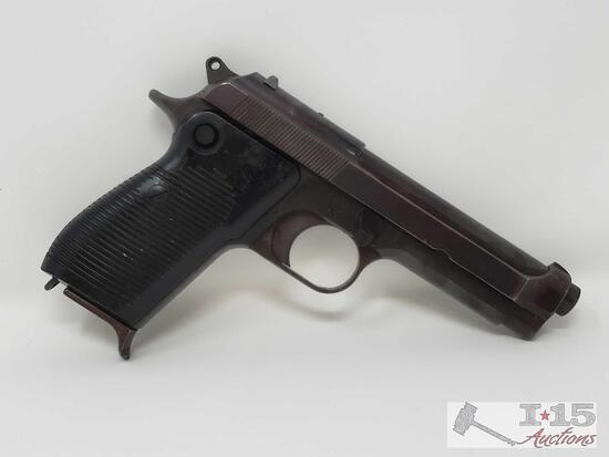 Beretta 1951 .9mm Semi-Auto Pistol With 10 Round Magazine