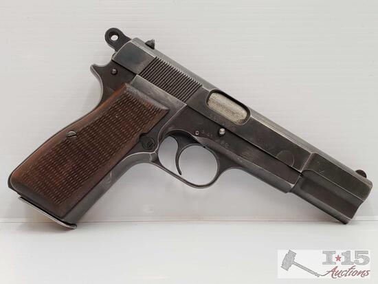 FN Browning WWII Hi-Power- 9mm Semi-Auto Pistol