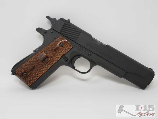 Springfield Armony 1911 Al .45 Semi- Auto Pistol