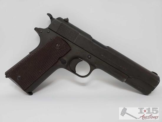 Colt 1911 .45 Cal Semi-Auto Pistol With 8 Round Magazine