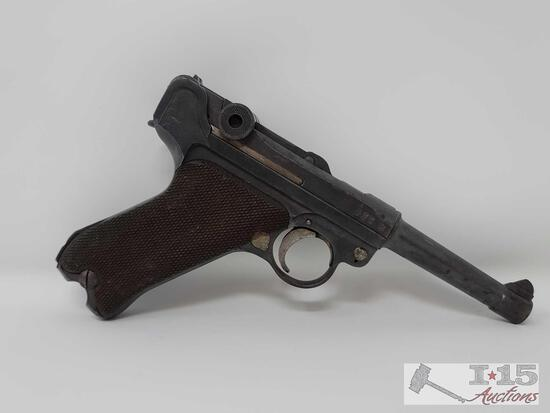 Erfurt 1917 .9mm Cal Semi-Auto Pistol With Magazine