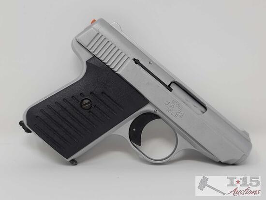 Jimenez Arms J.A .22 LR Semi-Auto Pistol With 2 6 Round Magazines