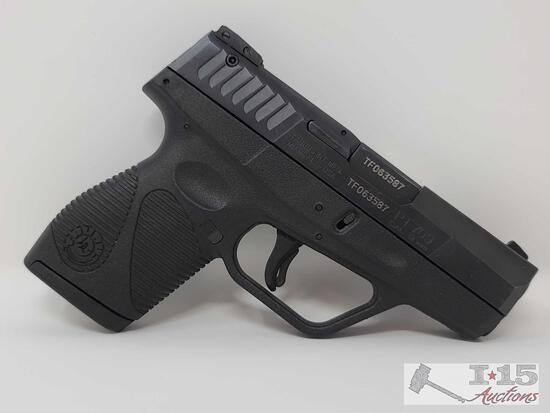 Taurus PT709 .9mm Cal Semi-Auto Pistol With 7 Round Magazine