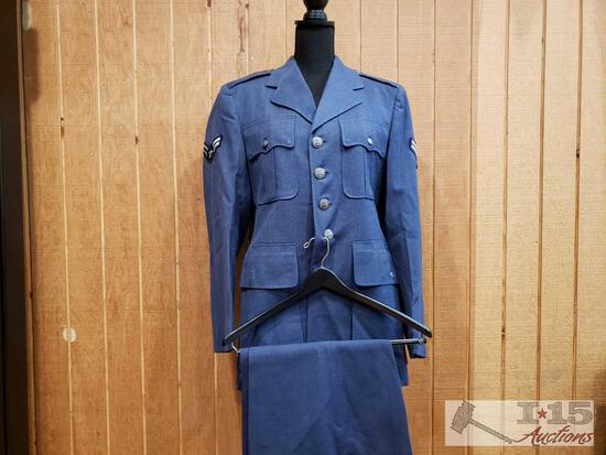 Airforce Uniform with Jacket and Pants