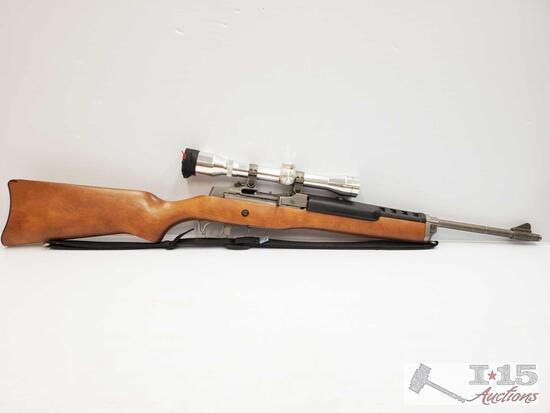 Ruger Ranch Model .223 Semi Auto Rifle With Simmons Scope