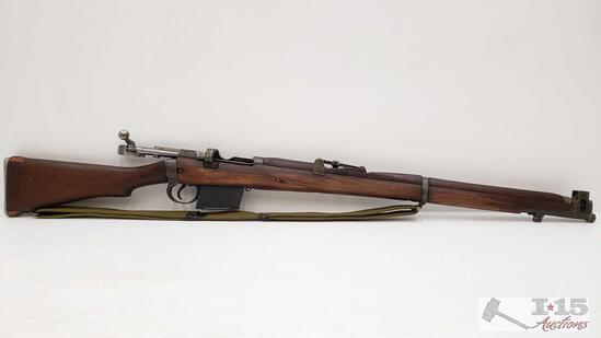 Lee-Enfield Mark lll 7.62 Bolt Action Rifle with Magazine
