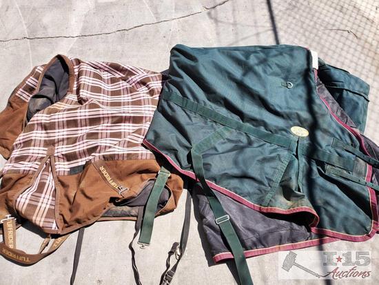 2 Horse Blankets - TuffRider and Devlyn