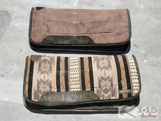 2 Saddle Pads