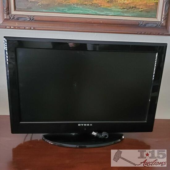"25 "" Dtnex Flat screen TV"