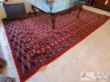 Large Hand Wooven Pakistan Rug