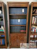 Bookcase with 3 Shelves and Cabinet