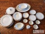 65-Piece Noritake Maywood 5154