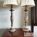 2 Beautiful Vineyard Inspired Lamps