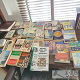 Approximately 50 Books mostly from Patrick O' Brian