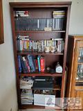 Bookshelf, VHS's, Coffee Mugs, Clothing Iron and more!