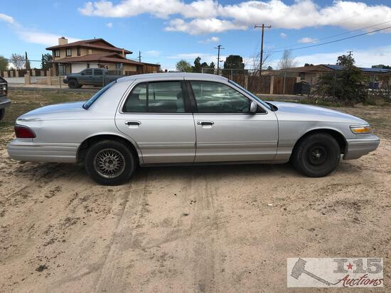 1997 Mercury Grand Marquis CURRENT SMOG Runs Good, See Video!