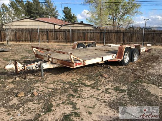1990 Jacobsen Trailer 18? Car hauler