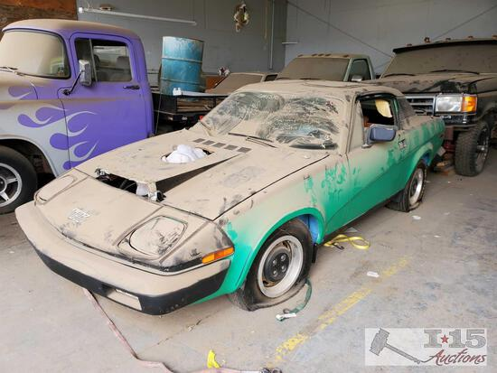1975 Triumph TR7 with Small Block
