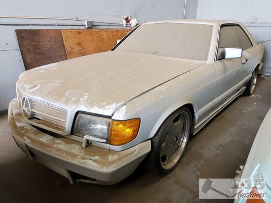 1988 Mercedes Benz 560SEC AMG